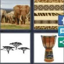 4 PICS 1 WORD ANSWERS 7 LETTERS african