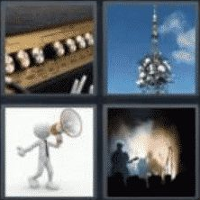 4 PICS 1 WORD ANSWERS 7 LETTERS amplify