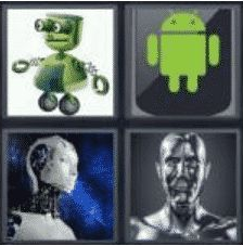 4 PICS 1 WORD ANSWERS 7 LETTERS android