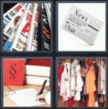 4 PICS 1 WORD ANSWERS 7 LETTERS article