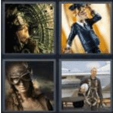 4 PICS 1 WORD ANSWERS 7 LETTERS aviator