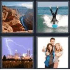 4 PICS 1 WORD ANSWERS 7 LETTERS awesome