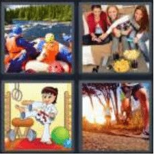 4 PICS 1 WORD ANSWERS 8 LETTERS activity