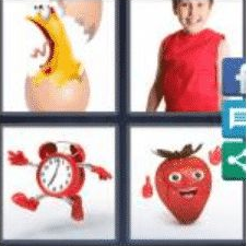 4 PICS 1 WORD ANSWERS 8 LETTERS animated