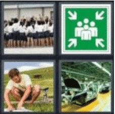 4 PICS 1 WORD ANSWERS 8 LETTERS assemble
