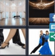 4 PICS 1 WORD ANSWERS 8 LETTERS ballroom