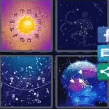 4 PICS 1 WORD ANSWERS 9 LETTERS astrology