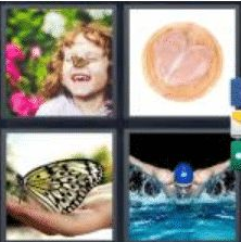4 PICS 1 WORD ANSWERS 9 LETTERS butterfly