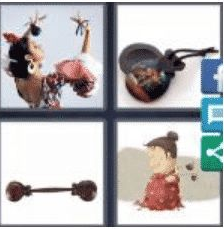 4 PICS 1 WORD ANSWERS 9 LETTERS castanets