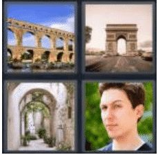 4 Pics 1 Word 4 Letter Answer arch 2