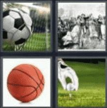 4 Pics 1 Word 4 Letter Answer ball