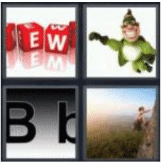 4 Pics 1 Word 4 Letter Answer bold