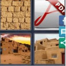 4 Pics 1 Word 5 Letter Answer abode 2