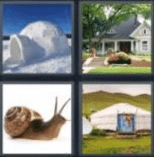 4 Pics 1 Word 5 Letter Answer abode