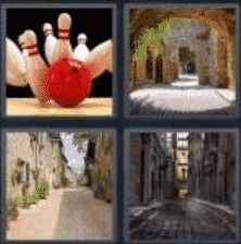 4 Pics 1 Word 5 Letter Answer alley