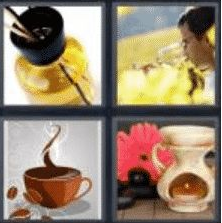 4 Pics 1 Word 5 Letter Answer aroma