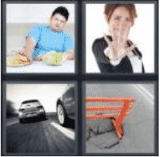 4 Pics 1 Word 5 Letter Answer avoid