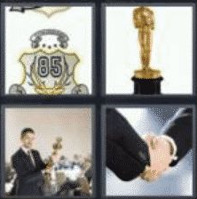 4 Pics 1 Word 5 Letter Answer award
