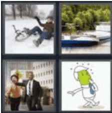 4 Pics 1 Word 5 Letter Answer barge