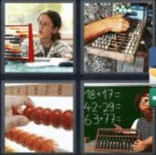 4 Pics 1 Word 6 Letter Answer abacus