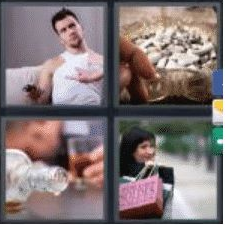 4 Pics 1 Word 6 Letter Answer addict