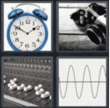 4 Pics 1 Word 6 Letter Answer analog