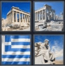 4 Pics 1 Word 6 Letter Answer athens
