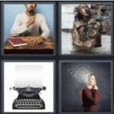 4 Pics 1 Word 6 Letter Answer author