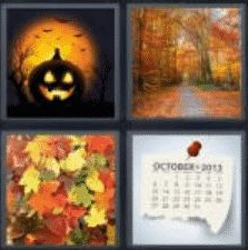 4 Pics 1 Word 6 Letter Answer autumn