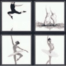 4 Pics 1 Word 6 Letter Answer ballet