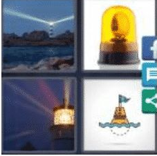 4 Pics 1 Word 6 Letter Answer beacon