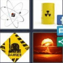4 Pics 1 Word word 6 Letter Answer atomic