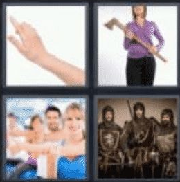4 pics 1 word 3 letter arm
