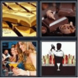 4 pics 1 word 3 letter bar