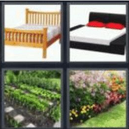 4 pics 1 word 3 letter bed