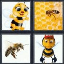4 pics 1 word 3 letter bee