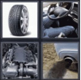 4 pics 1 word 3 letter car