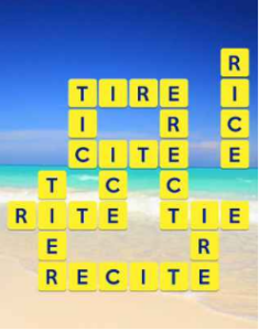 Wordscapes Beach 15 Level 303 answers