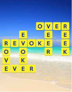 Wordscapes Beach 5 Level 293 answers