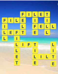 Wordscapes Beach 8 Level 296 answers