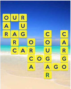 Wordscapes Beach 9 Level 297 answers