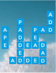Wordscapes Chill 9 Level 409 answers