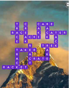 Wordscapes Climb 4 Level 356 answers