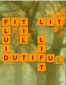 Wordscapes Fall 5 Level 565 answers