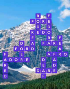 Wordscapes Fjord 4 Level 340 answers