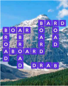 Wordscapes Fjord 7 Level 343 answers