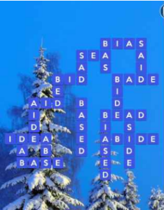 Wordscapes Frost 10 Level 474 answers