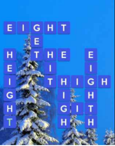 Wordscapes Frost 15 Level 479 answers