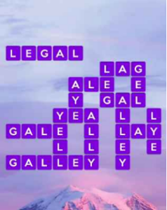 Wordscapes Peak 7 Level 391 answers