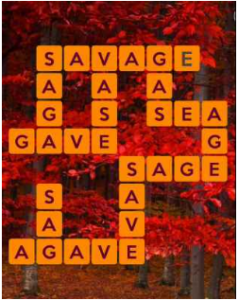 Wordscapes Red 5 Level 597 answers